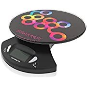 Framar Digital Scale, Hair Color Scale, Kitchen Scale, Food Scale, Gram Scale - Elegant Black