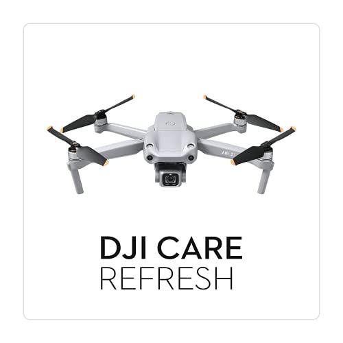DJI Air 2S Care Refresh 1 Anno, fino a Due Sostituzioni Entro 12 Mesi, Supporto Rapido, Copertura contro gli Incidenti e i Danni Causati Dall'Acqua, da Attivare Entro 48 Ore