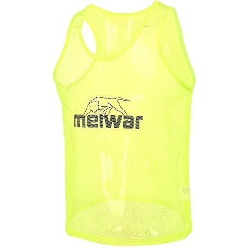 meiwar Trainingsleibchen 10er Set Markierungshemden in gelb, Größe S