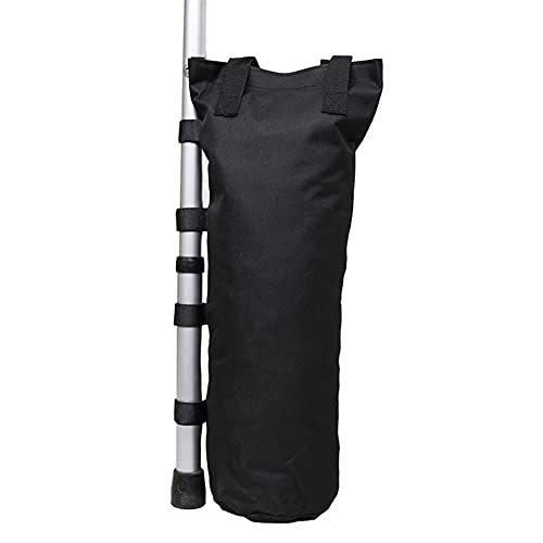 Pesos de gazebo Tienda de campaña al aire libre Bolso de arena de la campaña Sombrilla de la sombra Peso de la pierna Gazebo Oxford Fijación a prueba de viento Sandb bolsa de arena al aire libre Acces
