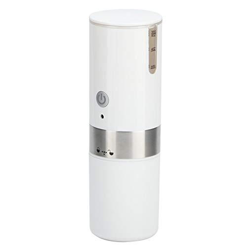 Cafetera, máquina de café con batería/USB totalmente automática, con un botón, cafetera portátil de una sola porción, para viajes de té y café