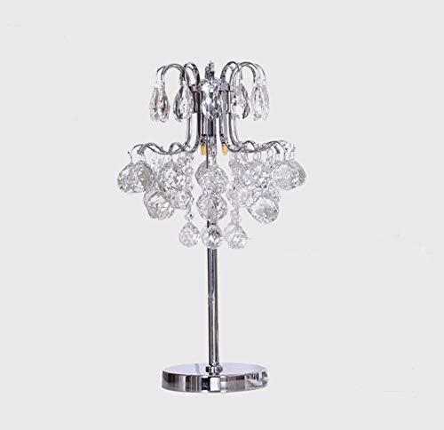 H-ei Lámpara De Mesilla De Noche, Decoración Creativa Lámpara Moderna De Cristal Lámpara De Lujo