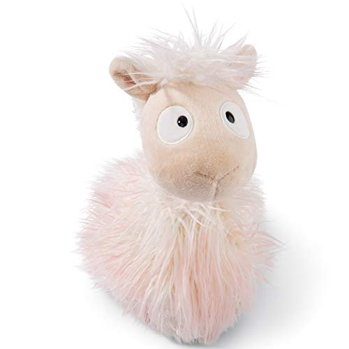 Nici 45404 Cuddy Soft Toy Llama-Baby Cloudi 20cm, Beige/Brown