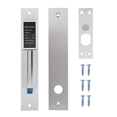 Cerradura de puerta automática, cerradura de perno automática duradera, diseño de bajo consumo Puerta de vidrio resistente Puerta de metal para puerta de madera Puerta ignífuga