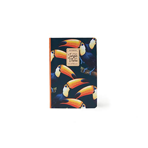 Legami A6NOT0018 - Notizbuch, liniert, klein, mehrfarbig (Toucans)