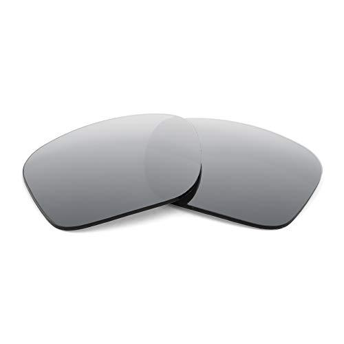 Polarized Replacement Lenses for Nike Mavrk Sunglasses - By APEX Lenses (Silver)