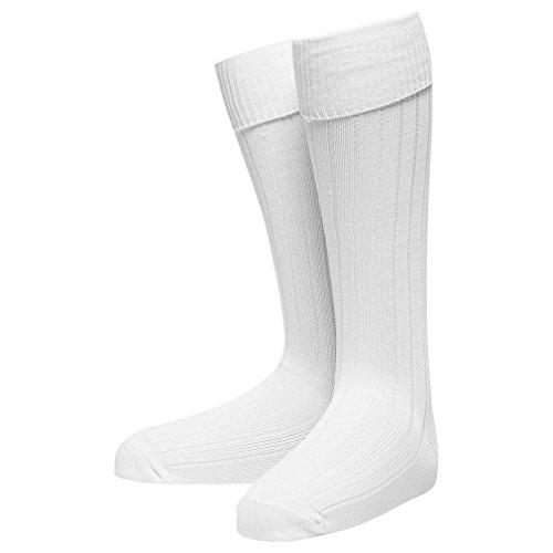 Carta Sport Chaussettes unisexes Precision (1 paire), Blanc, 40-45