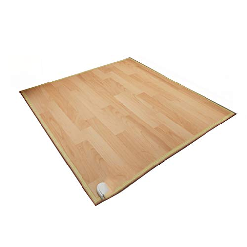 Jinxin-verwarming vloerverwarming mat Carbon Home woonkamer hoge temperatuur yoga mat elektrische vloer tapijt (100 * 100 * 0,8 cm)