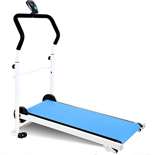 Stepper Mechanische loopband Vouwruimte Saver Fitness Running Machine Running Machine Walking Running Fitness Fitness Stepper Step Machine voor fitness en training,Blue