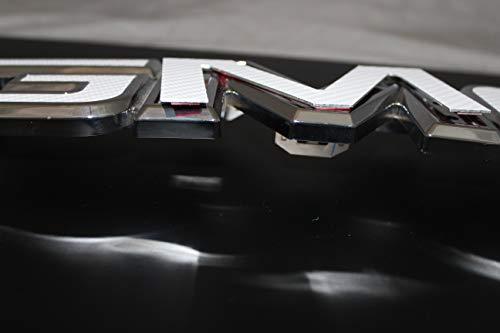 2017 GMC Sierra 1500 Gloss Black billet aluminum red letter replacements