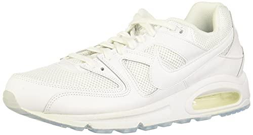 Nike Air Max Command, Scarpe da Ginnastica Basse Uomo, Bianco (White/White-White), 44.5 EU