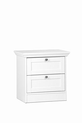 Intertrade Aura 65 Bett, MDF, Weiß, 50x50x35 cm