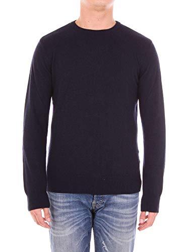 ANDREA FENZI Luxury Fashion Herren BI501G01DEEPBLU Blau Wolle Sweater   Jahreszeit Outlet
