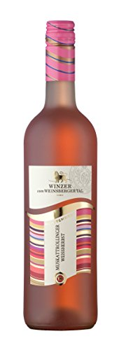 """Württemberger Wein Winzer vom Weinsberger Tal Muskattrollinger Weißhernbst QW """"JUNGE LINIE"""" lieblich (1 x 0.75 l)"""