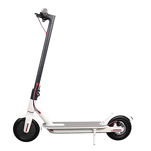 MKKYDFDJ Plegable E-Scooter,Ligero Y Portátil Viajero Patinete Eléctrico,Doble Sistema De Frenado E-Bicicleta...