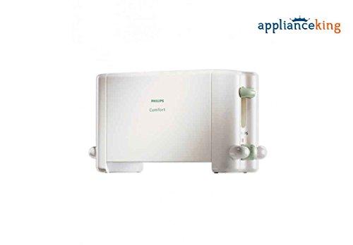 Philips HD4815/01 2-Slice 800-Watt Pop-up Toaster (White)