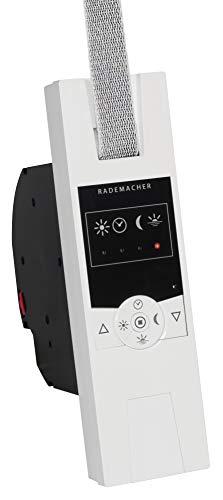 Rademacher 14234511 1400 Rolladenantrieb UP RolloTron Standard DuoFern ultraweiß, 70 W, 230 V, Weiß, Gurtwickler