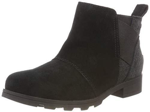 Sorel Emelie Chelsea Boot - Girls' Black/Black, 2.0