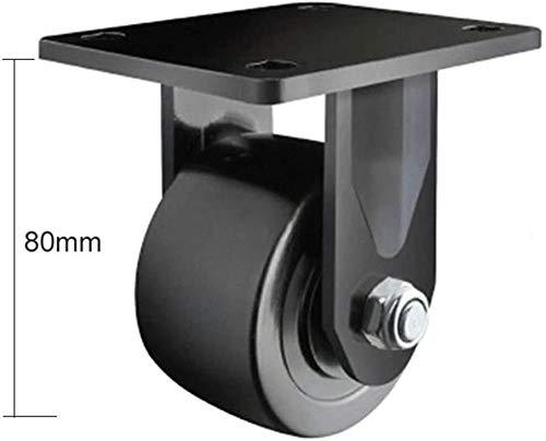 Portante 300KG Rueda giratoria, 2 pulgadas de baja Ruedas/ruedas, con Freno, for los carros pesados, máquinas herramientas, grande Equipm, INICIO/hardware industrial (color: Universal Caster)