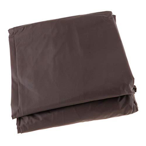 Inzopo - Funda para mesa de billar profesional, tela Oxford marrón de lujo, funda de almacenamiento para almacenamiento – Elección de tamaño 8 pi