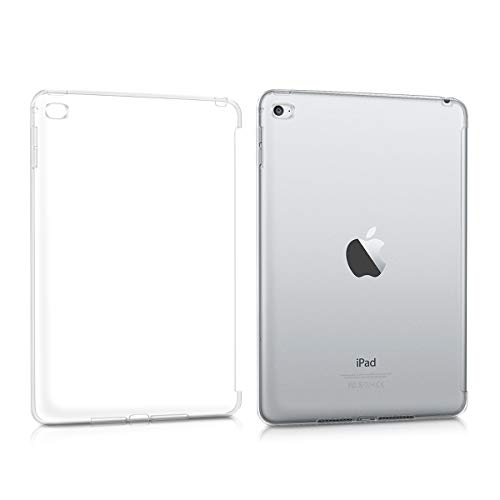 kwmobile Hülle kompatibel mit Apple iPad Mini 4 - Tablet Cover - Tab Hülle Silikon Schutzhülle in Transparent