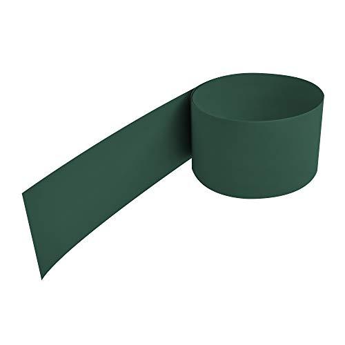 NOOR Zaunblende PP PRO 650 g/m2 Grün I 0,19 x 2,55 m I Der ideale Sichtschutz für Ihren Doppelstabmattenzaun I Sichtschutzstreifen in vielen Farben I Langlebig & Witterungsbeständig