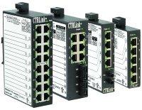 EISK5-100T | Contemporary Controls | 5-port 10BASE-T/100BASE-TX Skorpion switch, DIN-rail mount