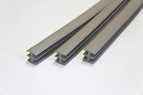 Trim-A-Slab 3 Pack 3/4 in. X 4 ft. Gray Concrete Expansion Joint Replacement Sidewalk Sticks