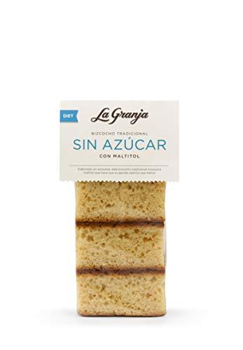 La Granja Bizcocho Tradicional sin Azúcar con Maltitol, 300 g