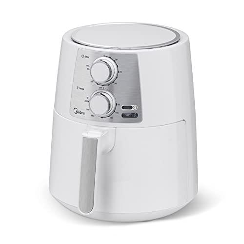 Fritadeira Air Fryer Sem Óleo, Midea, Branca 3,5L 127V
