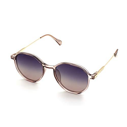 PERXEUS DEVON - Gafas de Sol para mujer. Ligeras y Resistentes - Protección UV400 + Lentes Polarizadas. [Gafas Rosa]