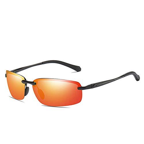 CXJC Gafas de sol polarizadas para Hombre Magnesio de aluminio para deportes...