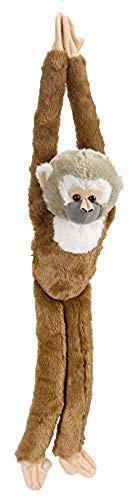 Wild Republic 14471 15256 Hanging Monkey Plüsch Totenkopfäffchen, 51cm
