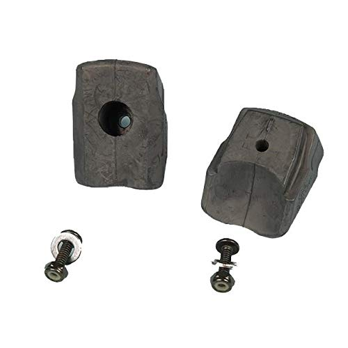 Rollerblade–STD/ABT Lite Bremsstopper x2–Bremsgummi für Roller, schwarz