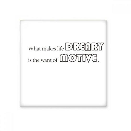 Slogan Wat maakt het leven Dreary Is De Wil Van Motief Keramische Bisque Tegels Badkamer Decor Keuken Keramische Tegels Wandtegels S