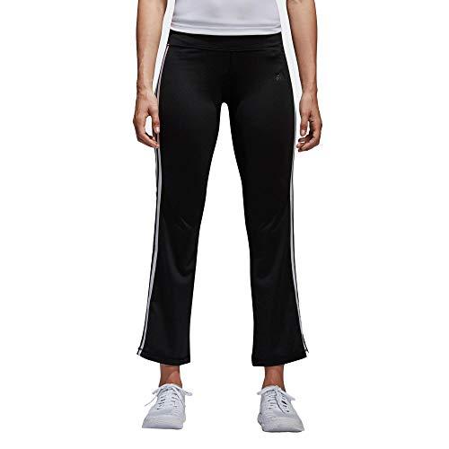 adidas Brushed 3S Pant, Pantaloni Sportivi Donna, Nero (Black/White Black/White), 36 (Taglia Produttore:XS)