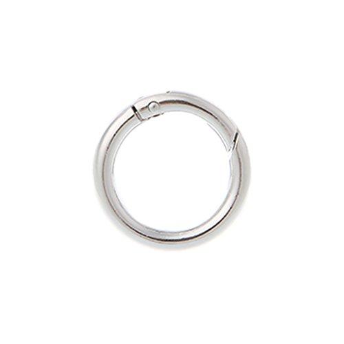 NA. RipengPI anillo redondo círculo resorte broche para DIY llavero gancho bolsa hebilla bolso bolso bolso monedero