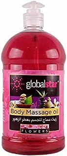 Global Star Rose Body Massage Oil 1 Litre