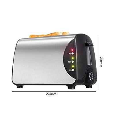 Kitchen-supplies-2-Scheiben-Toaster-5-Toastbrotschatten-Einstellungen-Edelstahl-Extra-Breitschlitz-Toaster–mit-Wiedererwaermungs-Abtau-Abbrechen-Funktion-und-abnehmbarem-Kruemel-Toaster