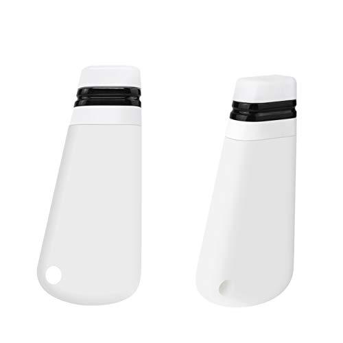Yidata Set di 2 Bottiglie da Viaggio, Set da Viaggio in Silicone Set di liquidi Ricaricabili a Prova di perdite Shampoo, balsamo, Sapone, lozione, Crema Solare, Articoli da toeletta ECC