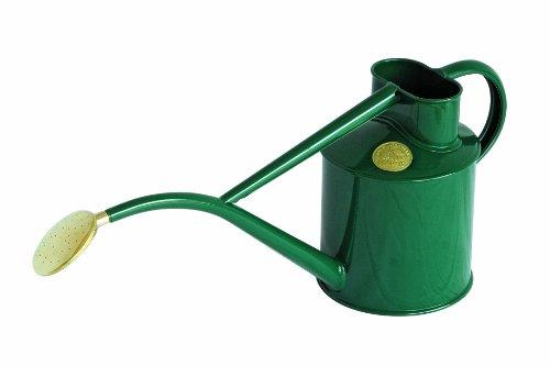 Haws Gießkanne für den Innenbereich, Metall, 1-Liter, mit Brause und Geschenk-Box