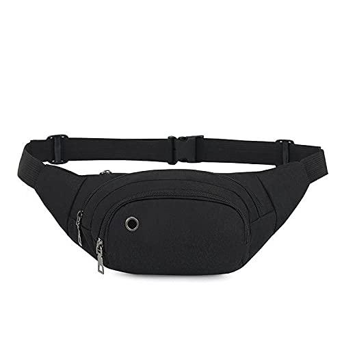 Bolsa de Cintura Paquete de Cintura Deportiva Casual - Bolsa de Viaje de Agua Push-Shui - Auriculares Paquete de teléfono móvil - Ocio Cien Mochila-1_A
