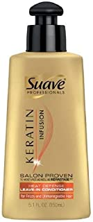 Suave Professionals Keratin Infusion Heat Defense Leave-In Conditioner5.1 oz(pack of 2)