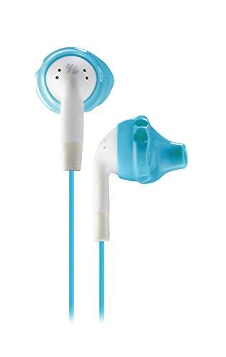 Yurbuds by JBL Inspire 100 In-Ear Sport Kopfhörer Schweißbeständige Ohrhörer für Damen mit TwistLock Technologie Kompatibel mit Smartphones, Tablets und MP3 Geräten - Aqua/Weiß