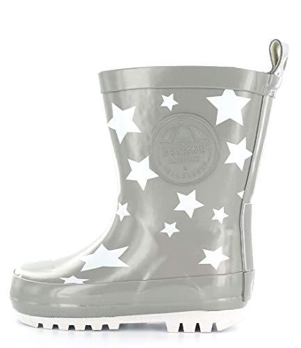 ShoesMe RB7A092-E KIDS' WELLIES 29 Silver star
