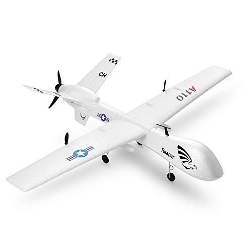 UR MAX BEAUTY Velivolo RTF RC (Ready To Fly), Aeromobili A Drone A 3 Canali con Telecomando A 2,4 GHz per Telecomando, Integrato in Un Sistema Giroscopio A 6 Assi Facile da Pilotare