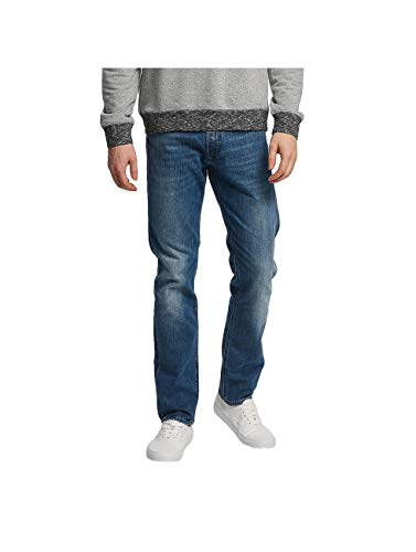 Kaporal Broz Straight Jeans, Moos Clair, 36W / 32L Homme