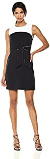 MILLY womens Combo Jenny Dress Dress