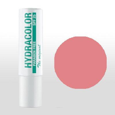 hydrac freecolor Lippenstift 42, Nude Rose, perfecto pflegender Pintalabios con alto factor de protección solar, sin parabenos. y glycerin
