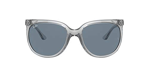 Ray-Ban 0RB4126 Gafas, TRANSPARENT, 57 Unisex
